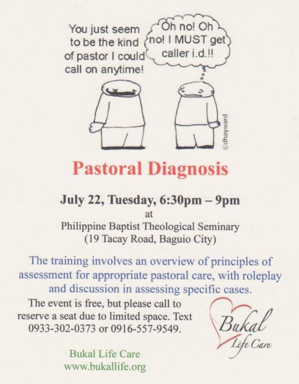 pastoral diagnosis 001