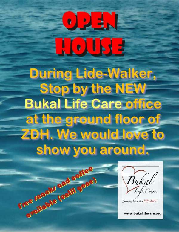 Bukal Open House